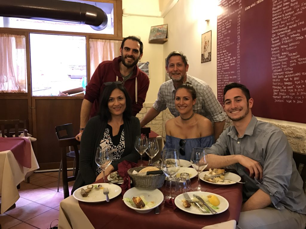 A food tour in Naples Italy